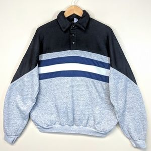 Vintage 90's Striped Sweatshirt